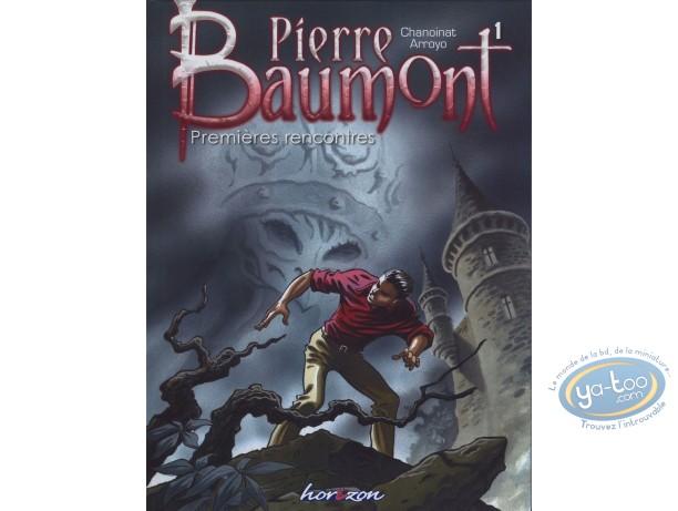 BD prix réduit, Pierre Baumont : Premières rencontres