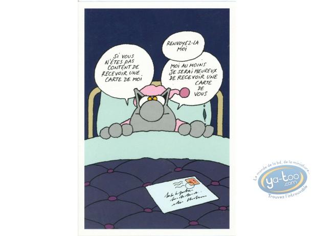 Carte postale, Chat (Le) : Retour heureux