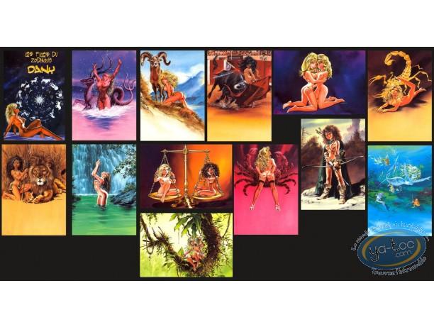 Portfolio, Filles du Zodiaque (Les) : Les filles du Zodiaque