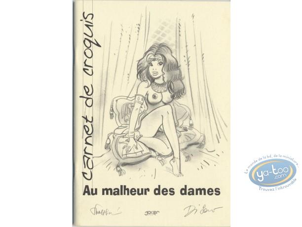 Carnet de croquis, Malheur des Dames (Au) : Au malheur des dames