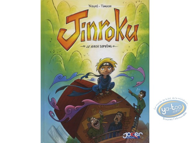 BD prix réduit, Jinroku : Le Ninja Suprême