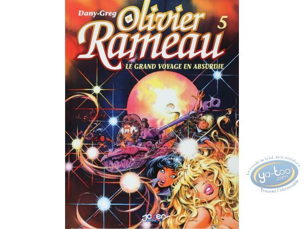 BD prix réduit, Olivier Rameau : Le grand voyage en Absurdie