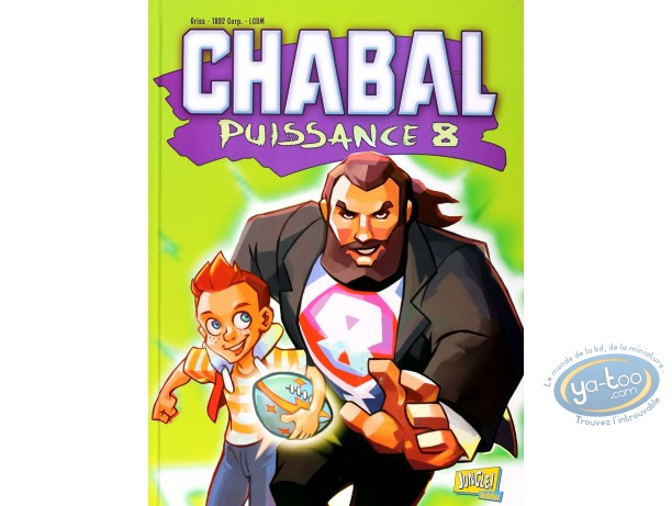 BD occasion, Chabal Puissance 8 : Chabal puissance 8