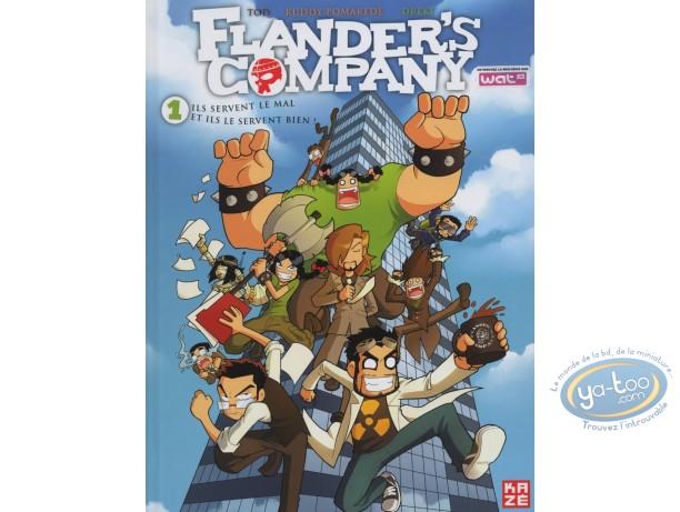 BD occasion, Flander's Company : Ils servent le mal et ils le servent bien.