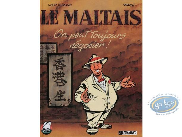 BD occasion, Maltais (Le) : On peut toujours négocier - Le maltais