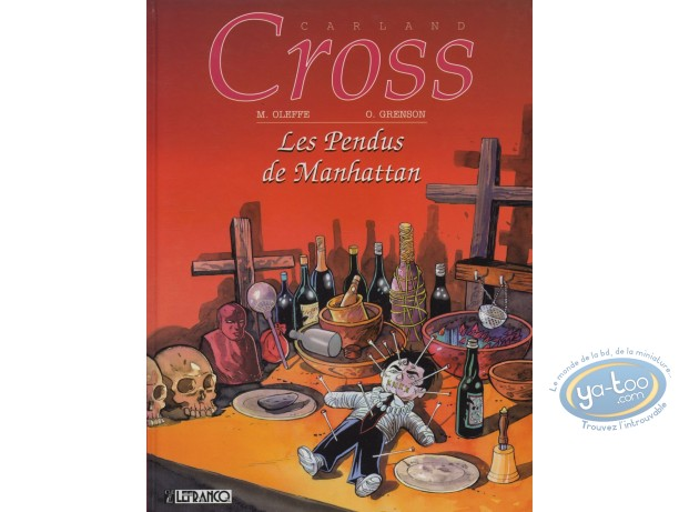 BD occasion, Carland Cross : Les Pendus de Manhattan