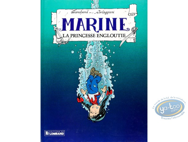 BD occasion, Marine : La princesse engloutie