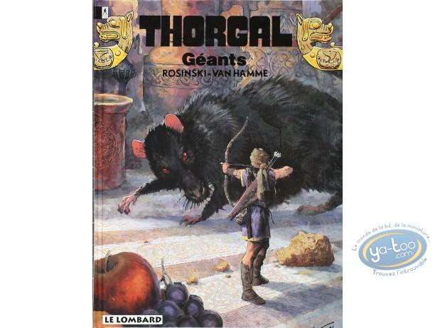 BD cotée, Thorgal : Thorgal, Géants