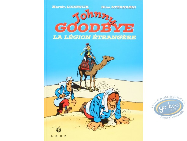 BD prix réduit, Jackson : Johnny Goodbye - La légion étrangère