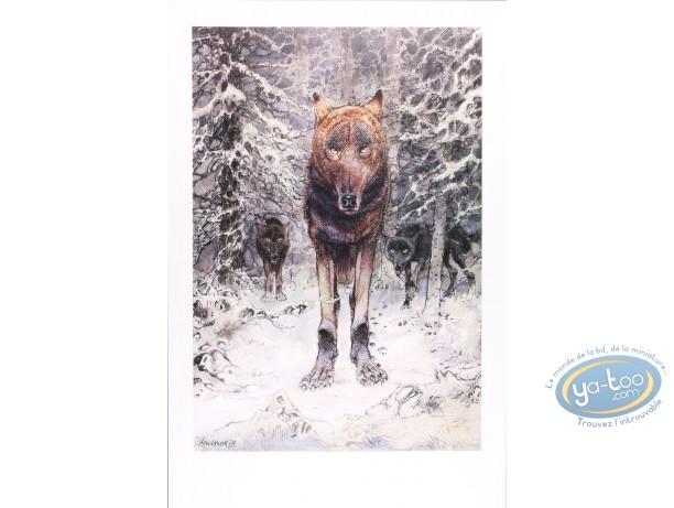 Affiche Offset, Le loup