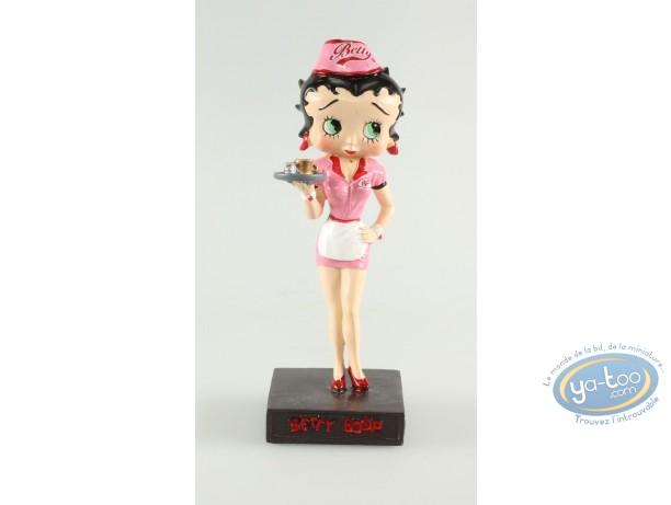 Statuette résine, Betty Boop : Betty Boop Serveuse de restaurant