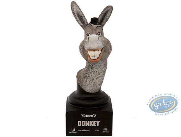 Statuette résine, Shrek : Buste Donkey