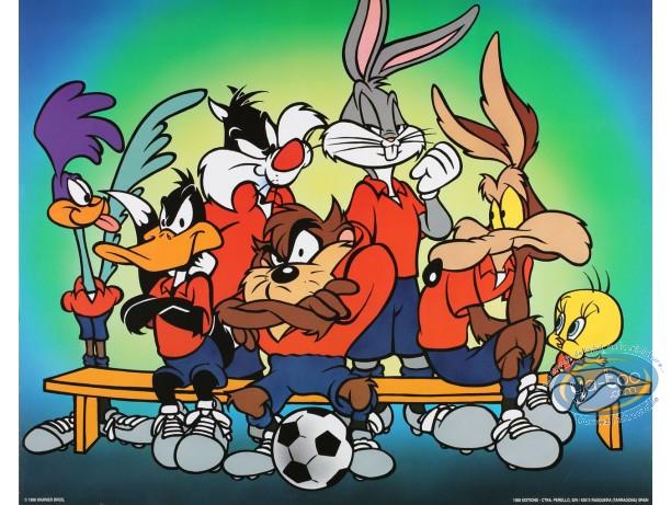 Affiche Offset, Looney Tunes (Les) : L'équipe 50X40 cm
