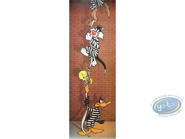 Affiche Offset, Looney Tunes (Les) : L'évasion 30X90 cm