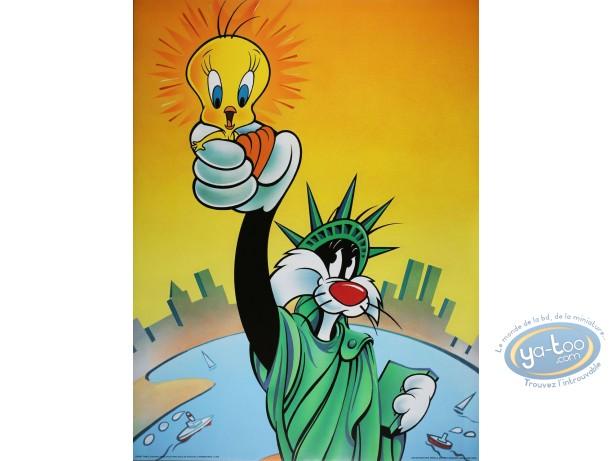 Affiche Offset, Titi : Rendez-moi ma liberté 60X80 cm