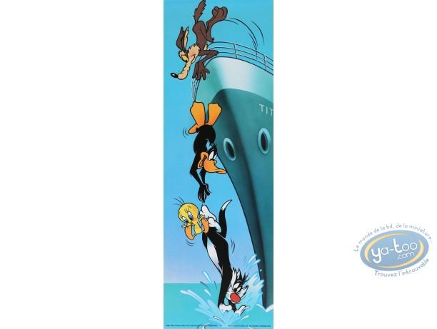 Affiche Offset, Looney Tunes (Les) : Titanic 15X45 cm