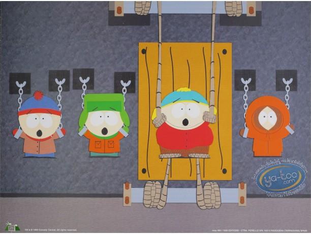 Affiche Offset, South Park : Prisonniers 40X30 cm