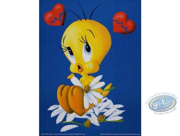 Affiche Offset, Titi : Titi coeur brisé 30X40 cm