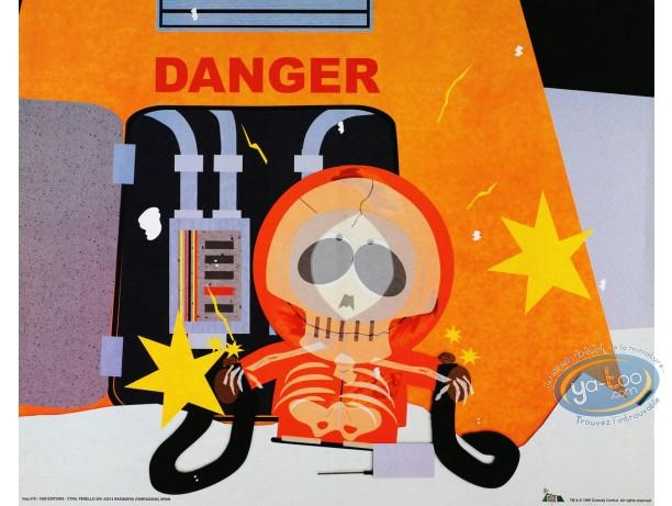 Affiche Offset, South Park : Kenny Danger 50X40 cm
