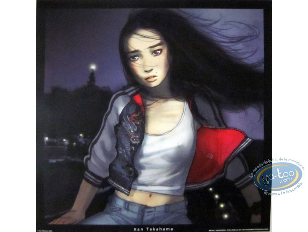 Affiche Offset, Jeune fille