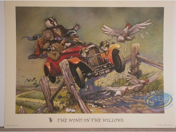 Affiche Offset, The Wind in the Willows