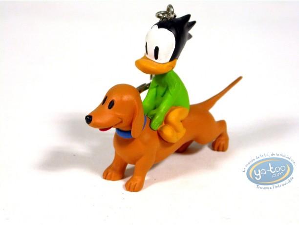 Porte-clé PVC, Liberty Meadows : Truman le canard et Oscar le chien