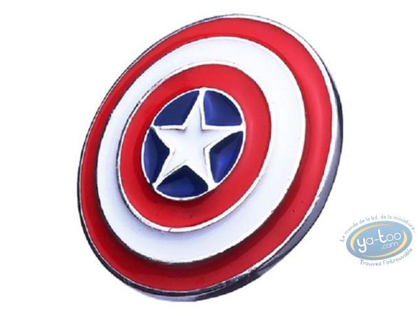 Bijou, Captain America : Pendentif, Capitaine América