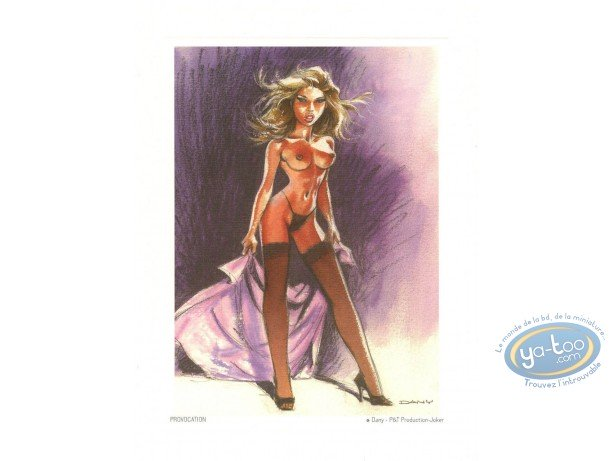 Affiche Offset, Pin-Up : Provocation
