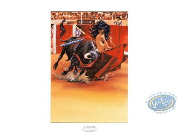 Affiche Offset, Filles du Zodiaque (Les) : La Fille du Taureau