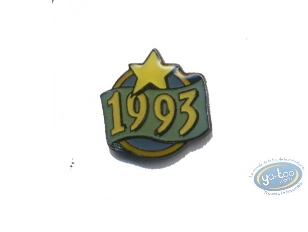 Pin's, Pin-Up : Pin's 1993