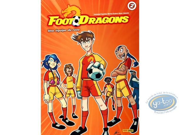 BD occasion, Foot Dragons : Une équipe de rêve