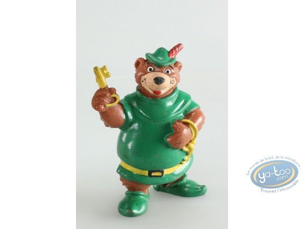 Figurine plastique, Robin des Bois : Petit Jean, Disney