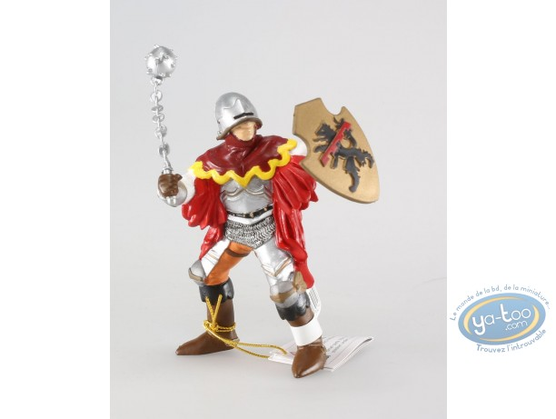 Figurine plastique, Officier à la masse d'arme rouge