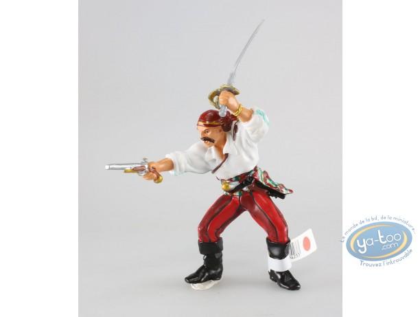Figurine plastique, Pirates : Corsaire avec pistolet