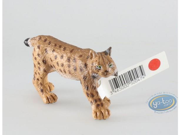 Figurine plastique, Animaux : Lynx