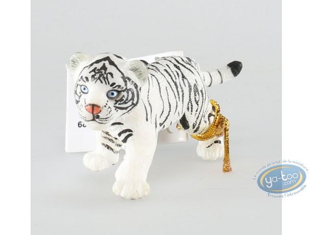 Figurine plastique, Animaux : Tigron blanc