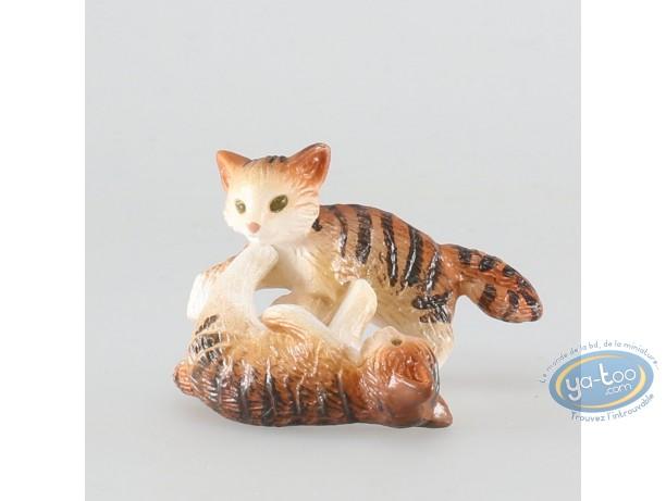 Figurine plastique, Animaux : Chatons