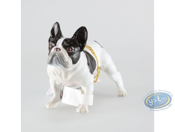 Figurine plastique, Animaux : Bouledogue