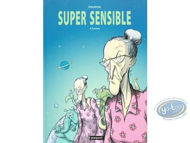 BD occasion, Super sensible : Fesses