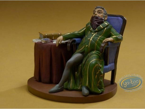 Statuette résine, Tableaux en 3D : Notaire