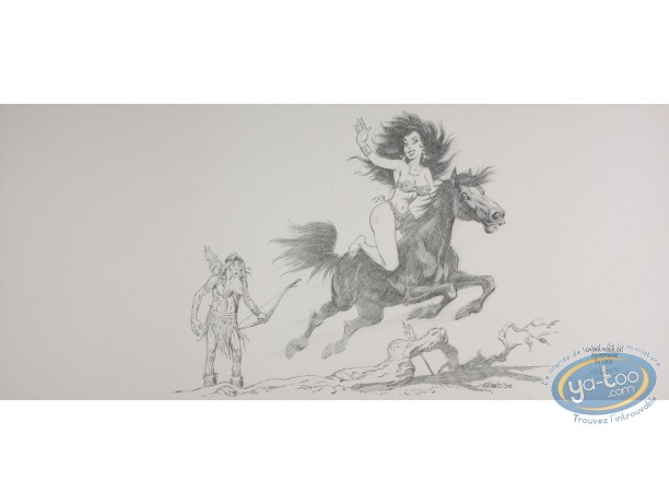Jaquette, Saintes Nitouches (Les) : Beauté à cheval