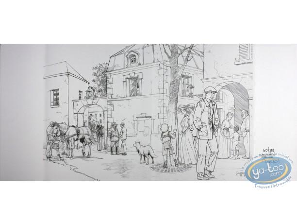 Jaquette, Louis Ferchot : Marchant dans la rue