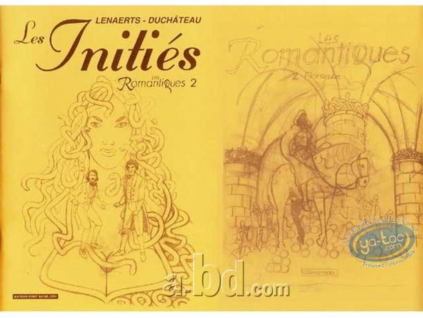 Carnet de croquis, Romantiques (Les) : Les Initiés
