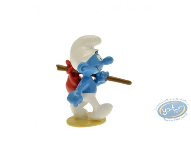 Figurine métal, Schtroumpfs (Les) : Origine : Schtroumpf au baluchon, Pixi
