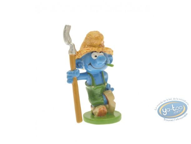Figurine métal, Schtroumpfs (Les) : Origine : Schtroumpf fermier, Pixi