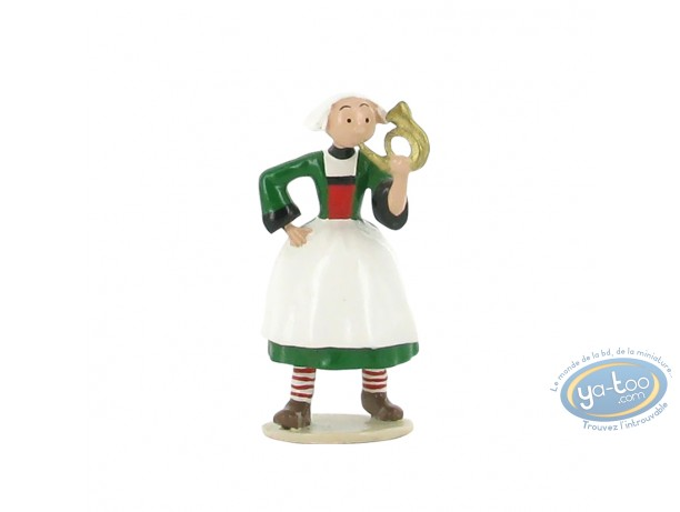 Figurine métal, Bécassine : Origine : Bécassine clairon, Pixi
