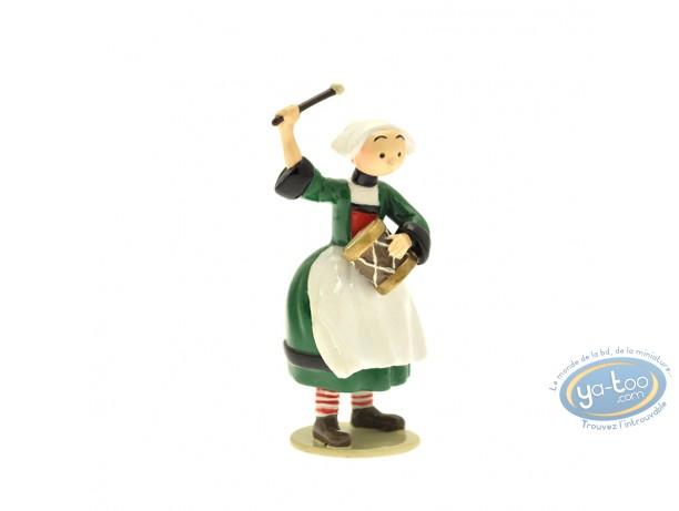 Figurine métal, Bécassine : Origine : Bécassine tambourin, Pixi