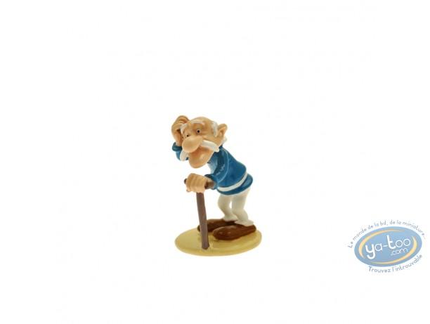 Figurine métal, Astérix : Origine : Agecanonix, Pixi