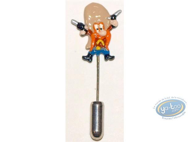 Figurine métal, Sam le Pirate : Epinglette, Sam le pirate, Pixi