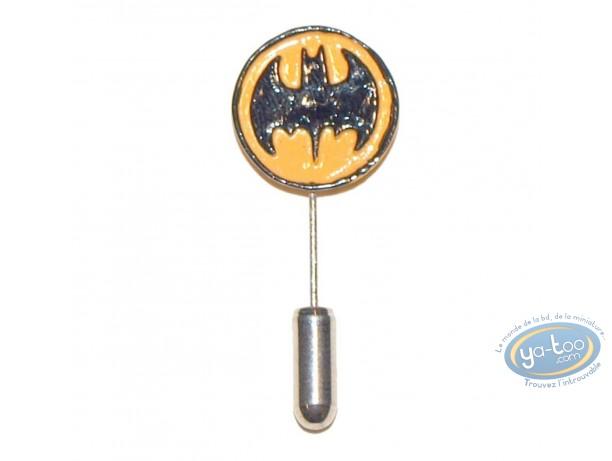 Figurine métal, Batman : Epinglette, Ecusson Batman rond, Pixi